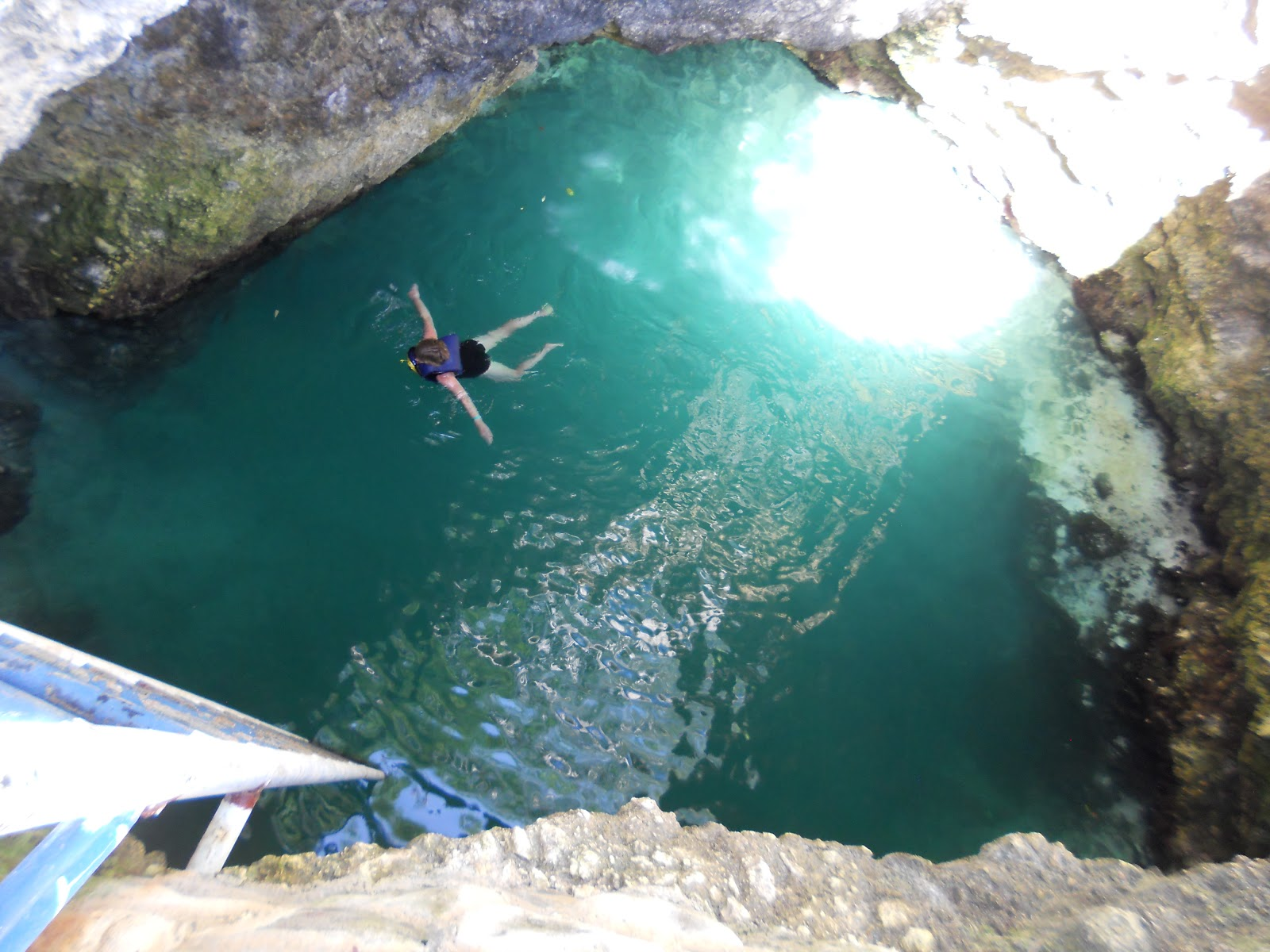 Blue Hole Negril Jamaica