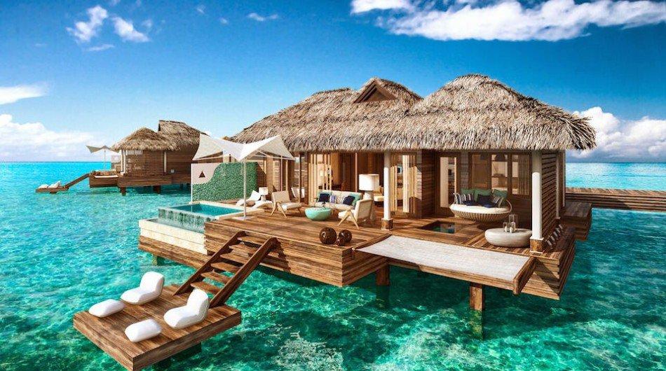 Sandals to Open Overwater Bungalow Suites in Jamaica