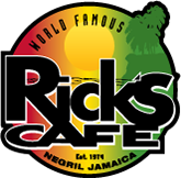 Ricks's cafe in Negril, Jamaica.